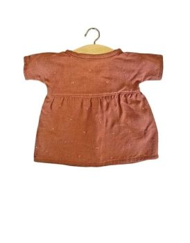 Minikane, Faustine  Dress w Glitter Detail - Brown