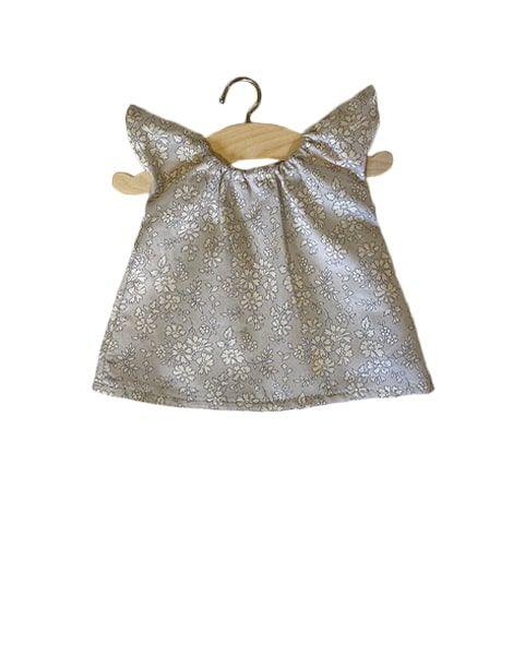 Minikane,  Nightdress Mary in Liberty® Cotton Mitsi gray