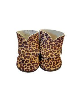 Minikane, Boho Boots in Leopard Print