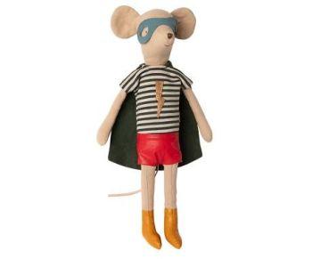Maileg, Superhero Mouse, Medium Boy