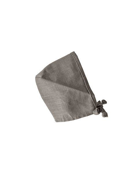 Minikane, Round Bonnet Linen Crush -  Taupe