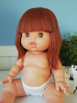 Minikane, Baby Doll Capucine with Underwear (blue eyes) **Comes w Underwear & Bag**