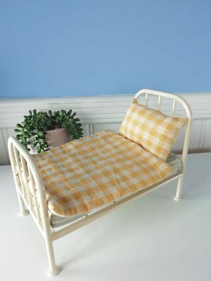 Maileg, Vintage Bed - Teddy Junior
