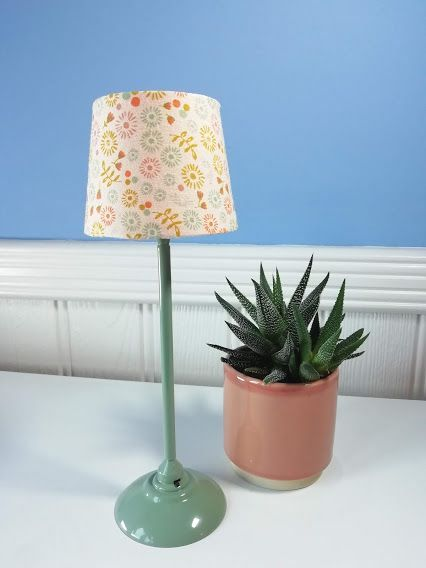 Maileg, Miniature Floor Lamp Mint    (Few Left)