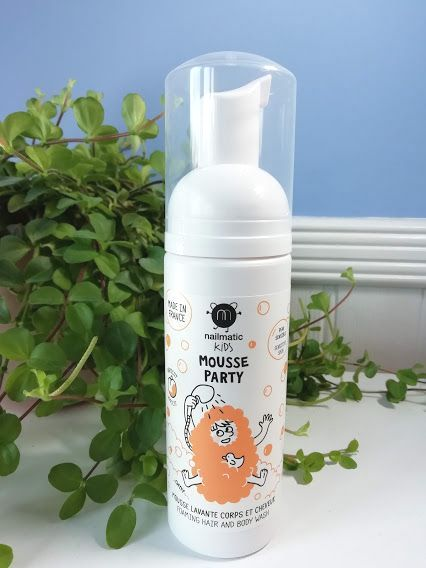 Nailmatic KIDS - Apricot Hair & Body Mousse