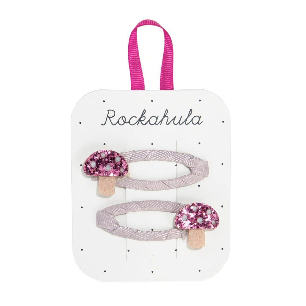 Rockahula,  Magical Toadstool Glitter Clips