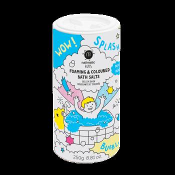 Nailmatic, Foaming Bath Salts - Blue