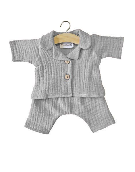 Minikane, Pyjama Albert double gaze - Grey