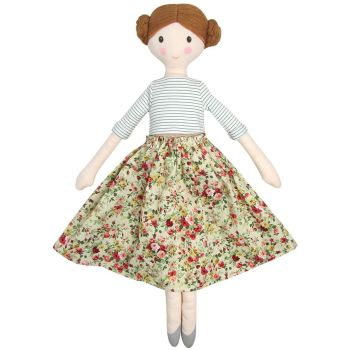 Albetta, Carmen Floral Doll (51cm) *PRE-ORDER*   DUE FRIDAY