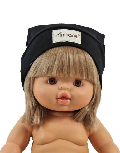 Minikane, Sock Hat - Black
