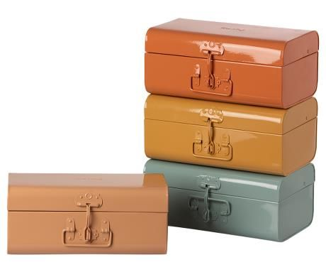 Maileg, Metal Suitcases