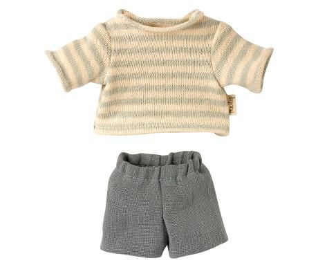 Maileg, Top & Shorts for Teddy Junior **Due late May**