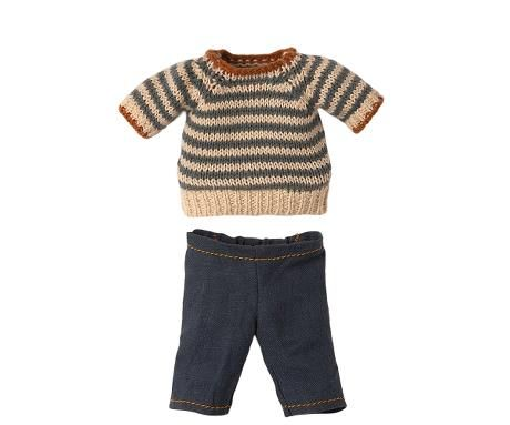 Maileg, Jumper and trousers for Daddy Teddy **Due Late May**