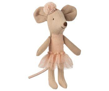 Maileg, Little Sister Ballerina with headband **Due Late Feb**