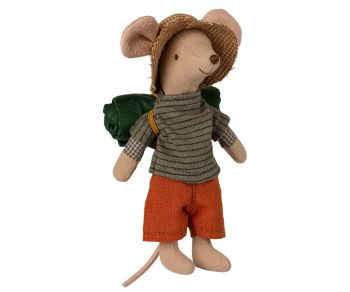 Maileg, Hank the Hiking Mouse, Big Brother Mouse (2021)  **Due Feb**