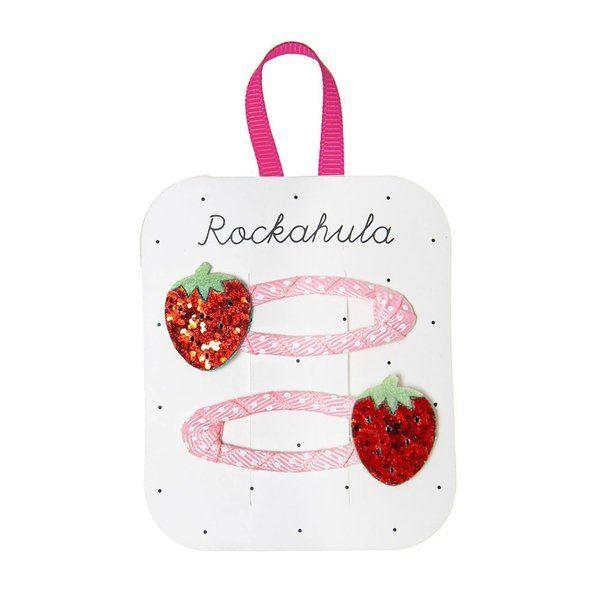 Rockahula Kids, Sweet Strawberry Glitter Clips