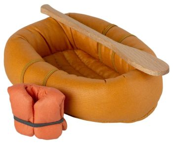 Maileg, Rubber Boat, Mouse - Dusty Yellow **Due Mid Feb **