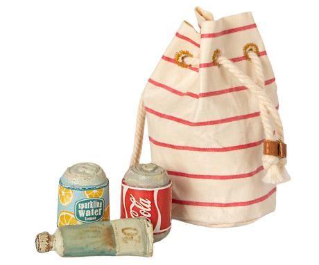 Maileg, Bag w Beach Essentials **Due Mid May**