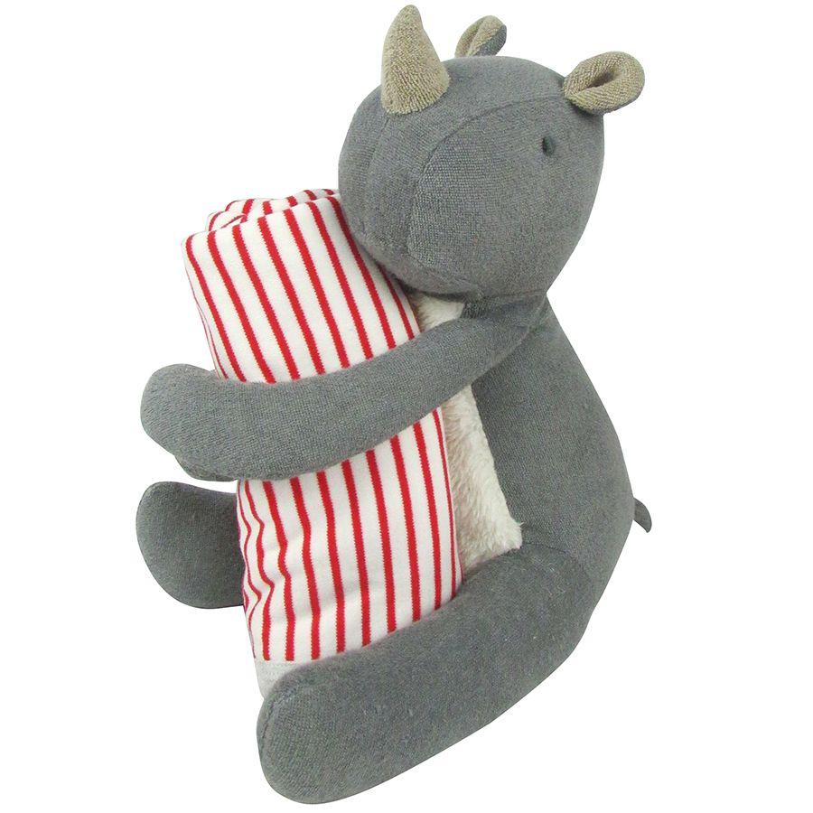 Albetta, Huggy Rhino Toy & Blanket **DUE MARCH**