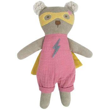 Albetta,  Super Hero Bear (Pink) 25cm