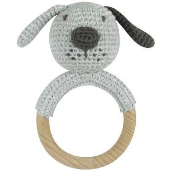 Albetta, Crochet Dog Ring Rattle