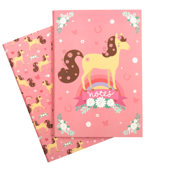 A Little Lovely Company, A5 Notebooks: Horse  **COMING SOON**