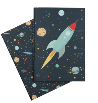 A Little Lovely Company, A5 notebooks: Space