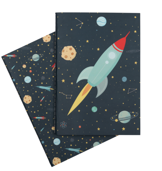 A Little Lovely Company, A5 notebooks: Space **COMING SOON**