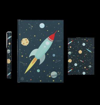 A Little Lovely Company, Stationery Set: Space