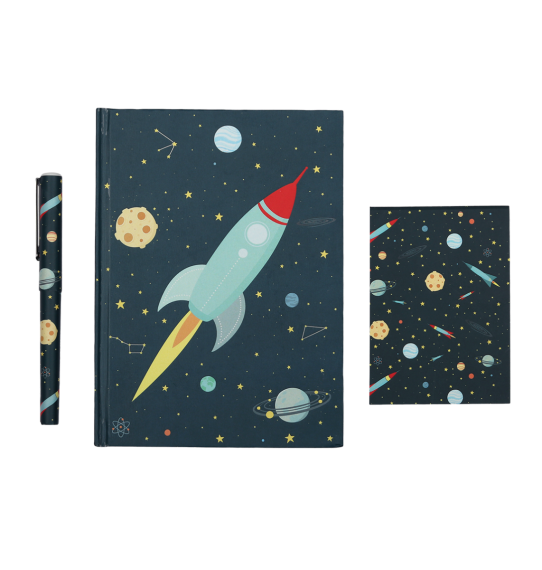 A Little Lovely Company, Stationery Set: Space **COMING SOON**