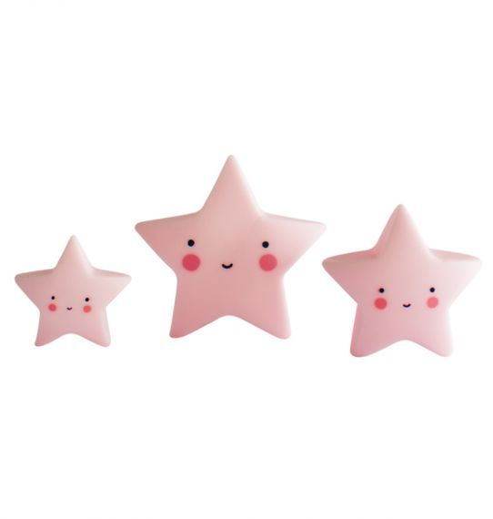 A Little Lovely Company, Mini Star (Pink)  **COMING SOON**