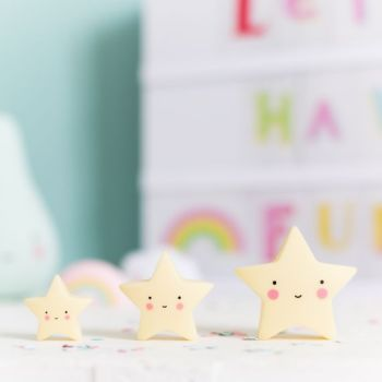 A Little Lovely Company, Mini Stars (Yellow)