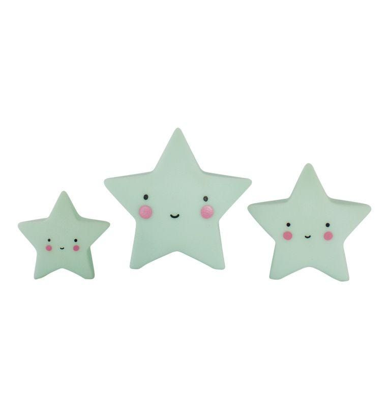 A Little Lovely Company, Mini Stars (Mint) **COMING SOON**