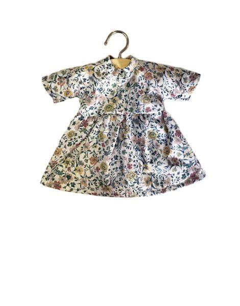 Minikane, Amigas Faustine Dress (Floral Blue)