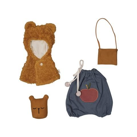 Fabelab, Doll Clothes Set - Bear