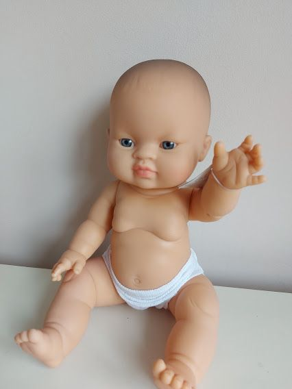 Odds and Ends, Minikane, Baby Girl Koko with Underwear (light eyes) **Black