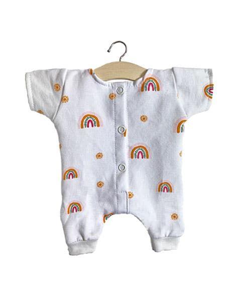 Minikane Cotton Jumpsuit (Rainbow)