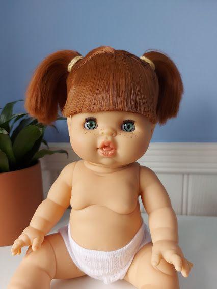 Minikane, Gabrielle (blue eyes) With Sleepy Eyes **Comes w Underwear & Bag*