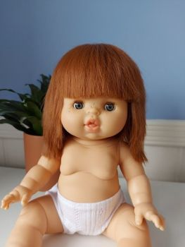 Minikane,   Capucine ( Strawberry Blonde / Blue Eyes) Sleepy Eyes **Comes  w Underwear & Bag**
