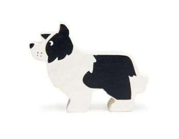 Tender Leaf Toys, Farmyard animal (English sheep dog)