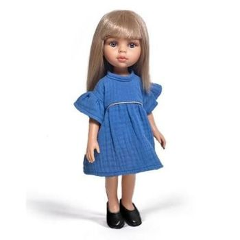 Minikane, Amigas Carla in Daisy Dress (Dark Blue)