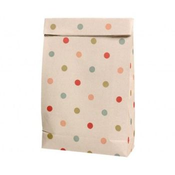 Maileg, Gift Bag W Multi Dots  (Medium)