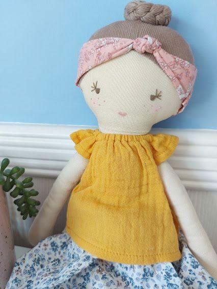 Albetta, Flower Florence Doll   (40cm)