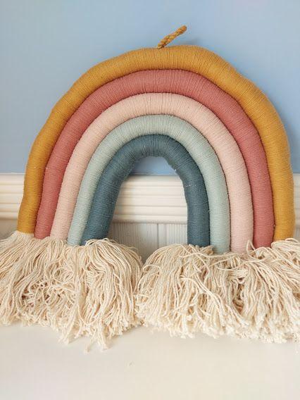 Fabelab - Rope Rainbow Wall Hanging (Big)