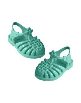 "Minikane,  ""Sun"" Beach Sandals for Doll- Turquoise"