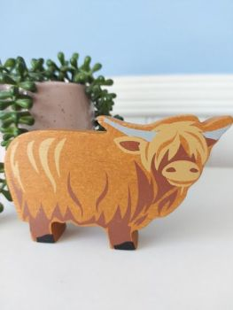 Tender Leaf, Farmyard (Highland Cow)