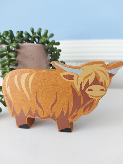 Tender Leaf, Farmyard (Highland Cow)