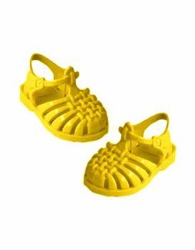 """Minikane, """"Sun"""" Beach Sandals for Doll - Yellow"""