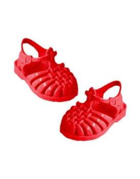 "Minikane, ""Sun"" Beach Sandals for Doll - Carmin"