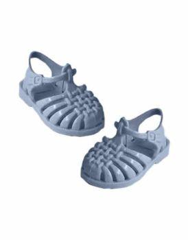 """Minikane, """"Sun"""" Beach Sandals for Doll - Blue"""